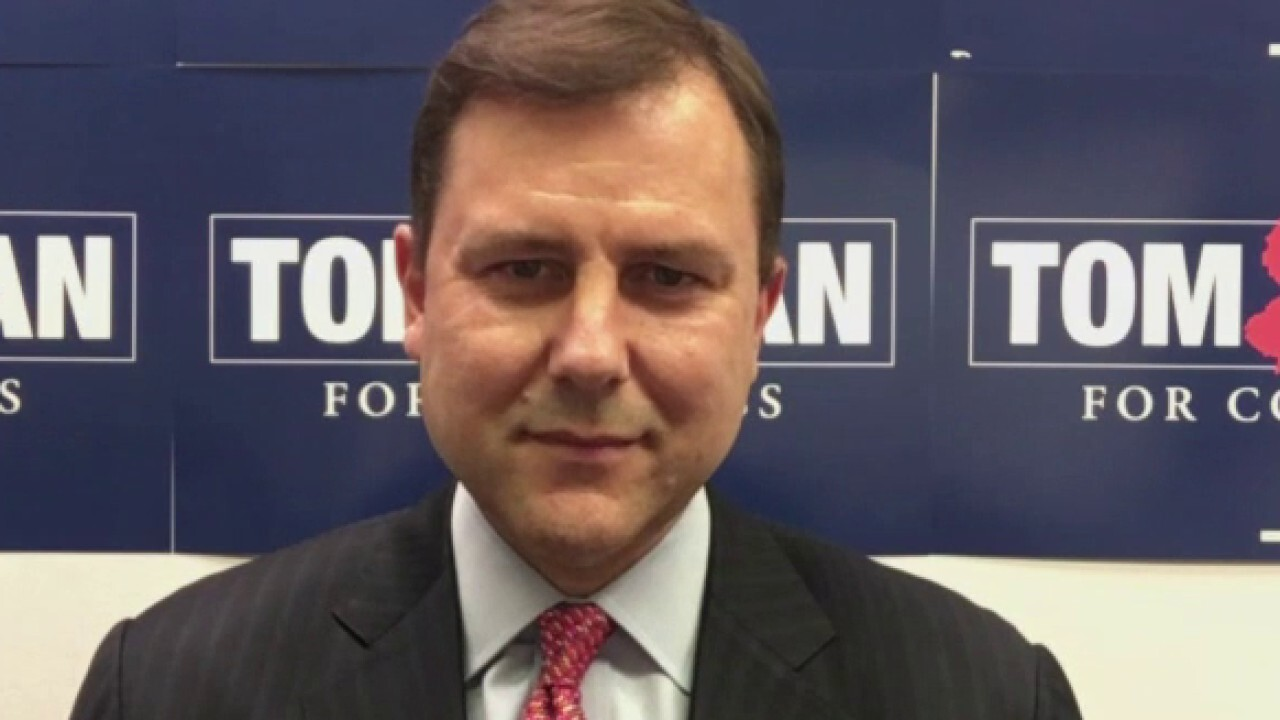 Republican Congressional candidate Tom Kean weighs in on 'Fox Report.'