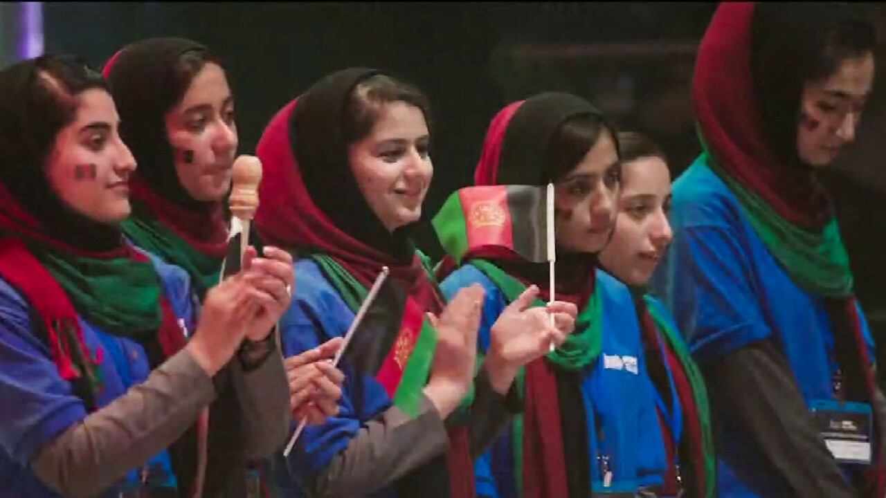 Afghan all-female robotics team desperately trying to flee country