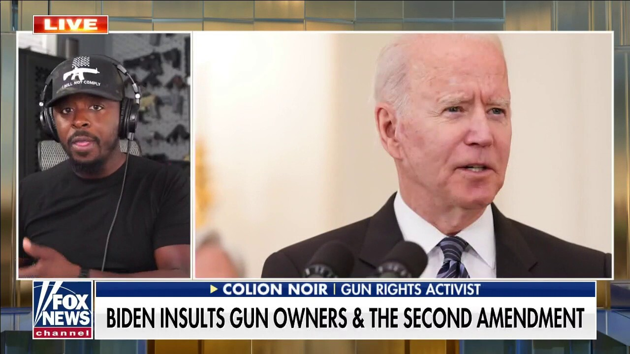 Colion Noir: Biden looks at gun owners like 'oppressive' group to rule over