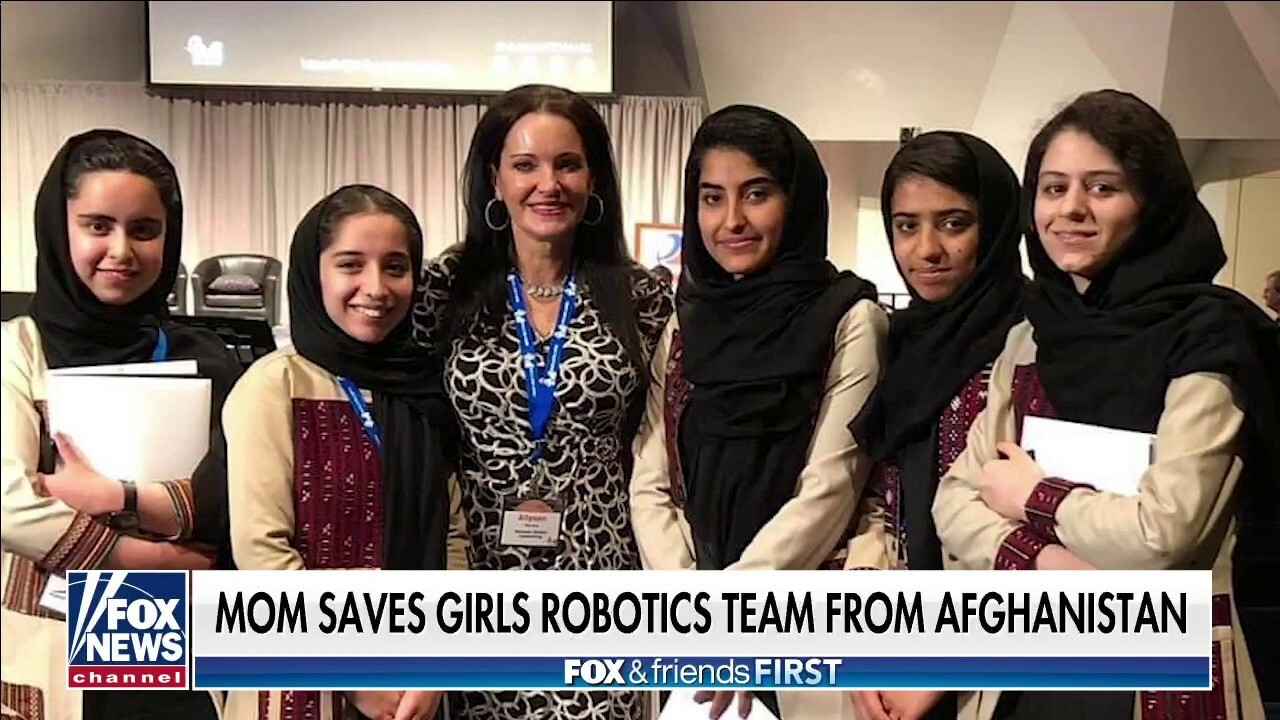 Afghanistan women's robotics team members rescued by Oklahoma mother