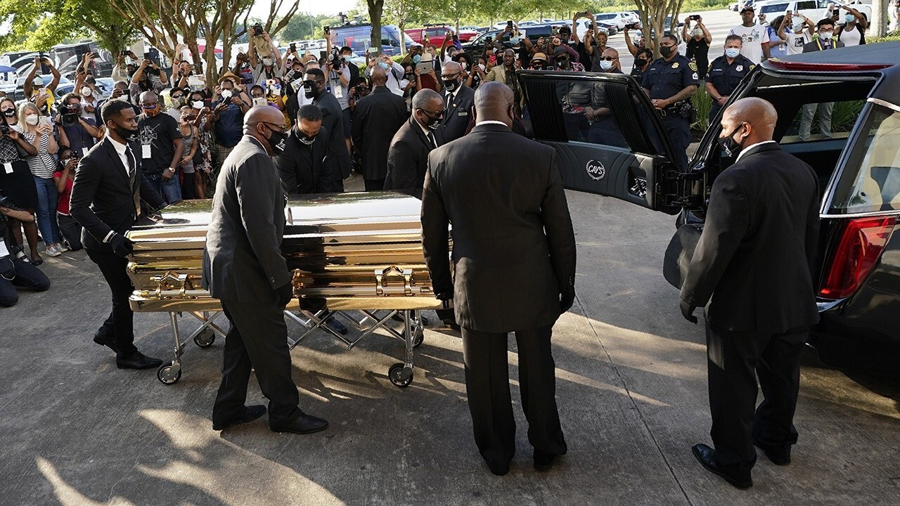 George Floyd to be laid to rest in Texas after private funeral