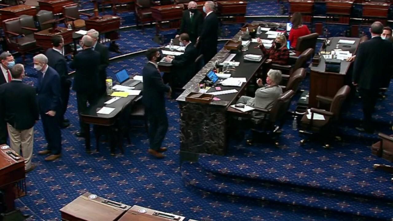 Senate debate $2,000 stimulus checks, vote on Trump defense bill veto