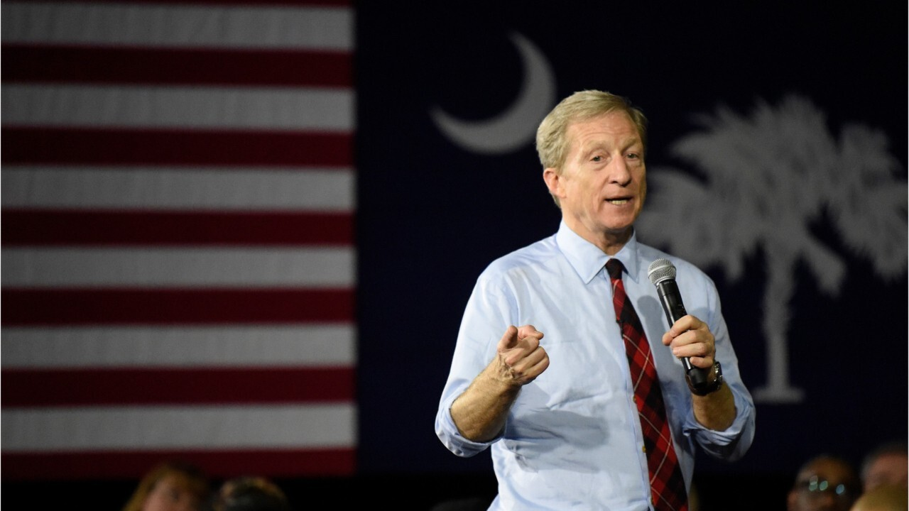 Tom Steyer: Key to Nevada, South Carolina success is spending time there, not just money