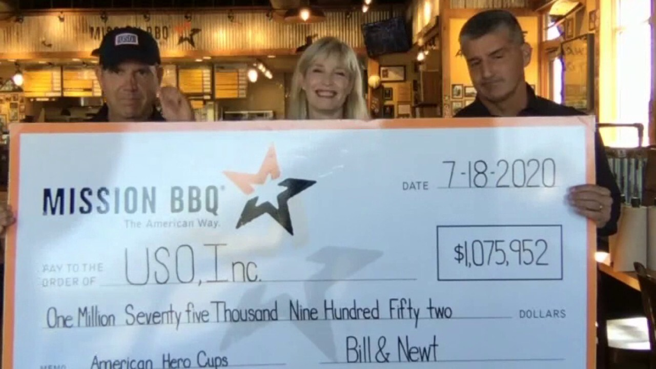 Mission BBQ helping America's heroes