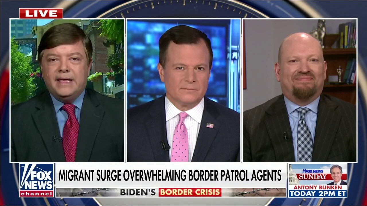 VP Harris 'has been a disaster on everything,' especially the border 'crisis': Radio host