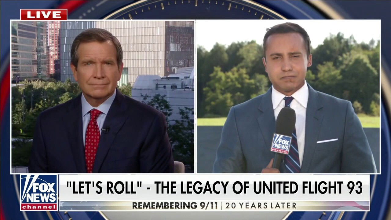 Bryan Llenas reports from crash site of United Flight 93