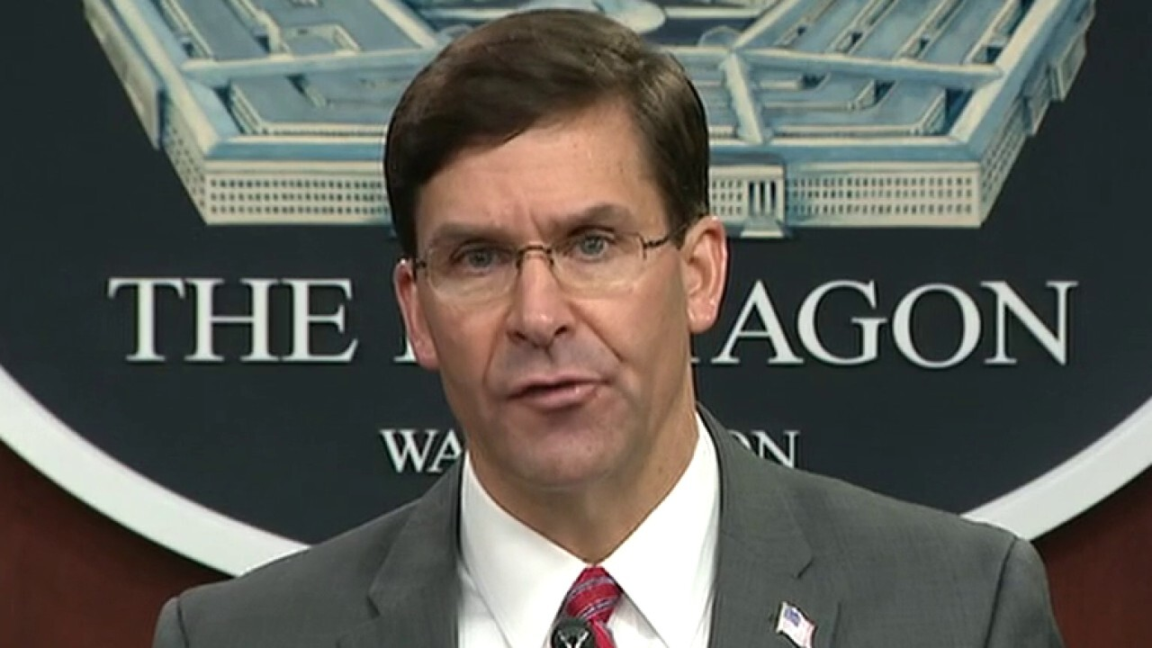 Defense secretary says he does not support using troops to control protests