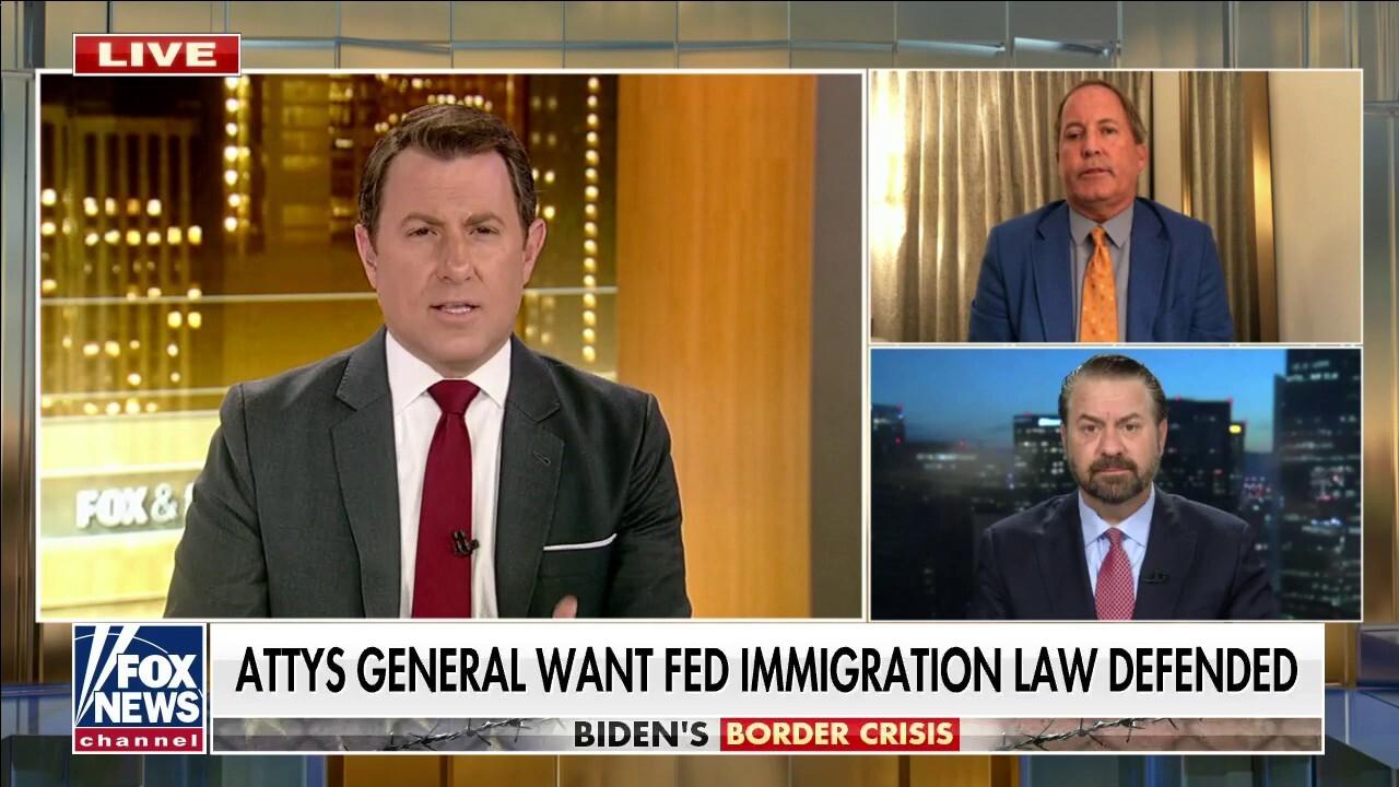 Border states' AGs warn Biden as border crisis worsens