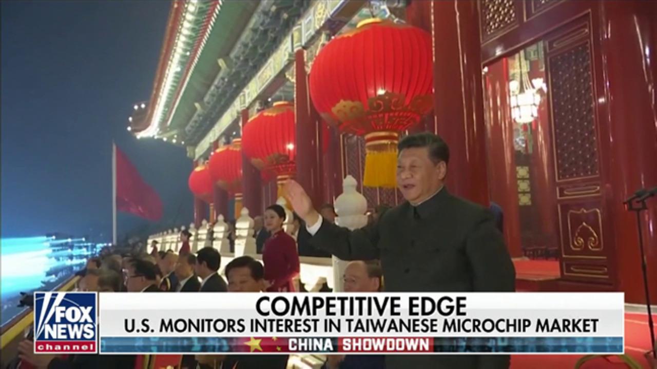 US monitors Beijing interest in global microchip market