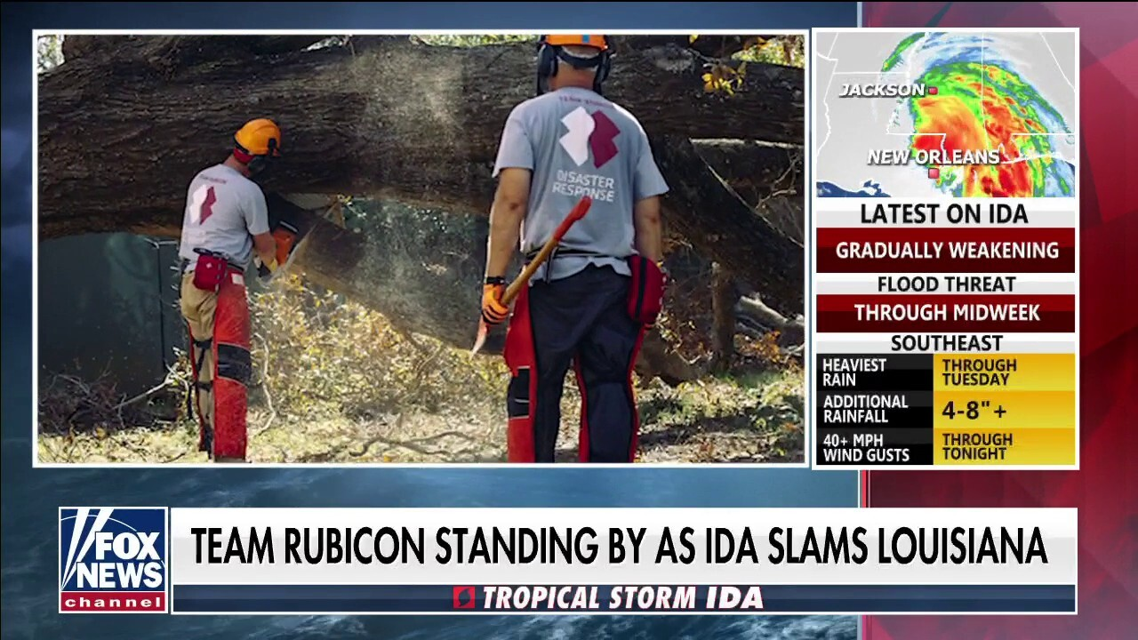 'Team Rubicon' aids in disaster relief efforts following Hurricane Ida