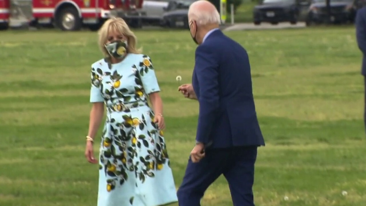Love is in the air in the Biden White House