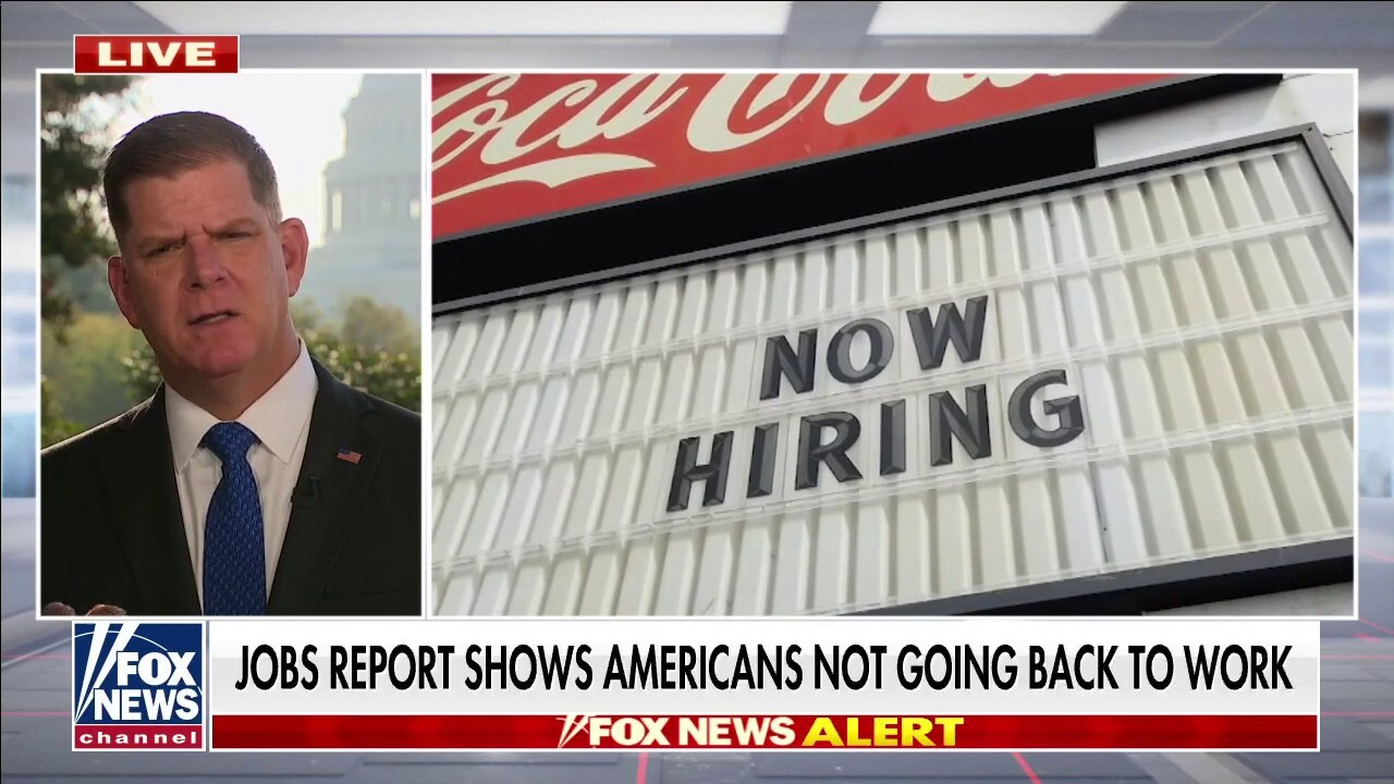 US Labor Secretary on September jobs report: 'Pandemic continues to create challenges'