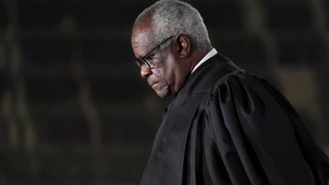 Supreme Court Justice Clarence Thomas says federal marijuana laws 'may no longer be necessary'