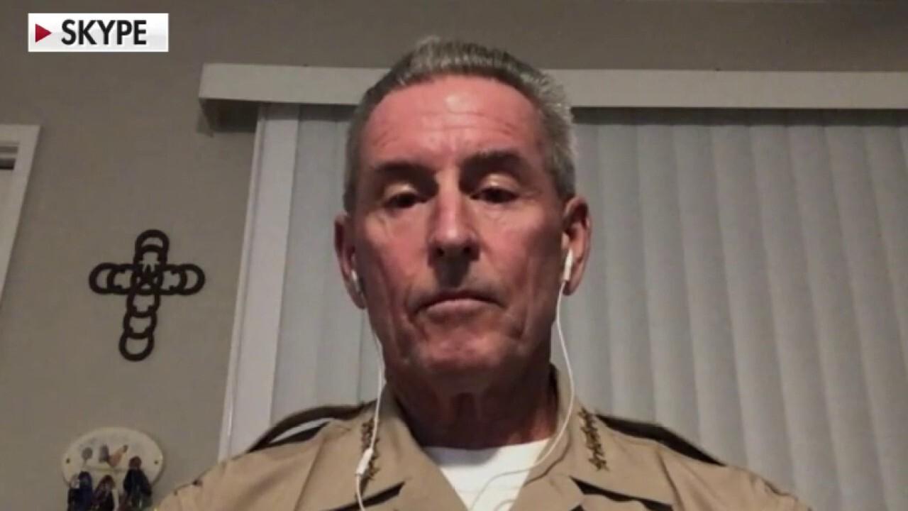 California sheriff warns against forced release of felons amid coronavirus pandemic