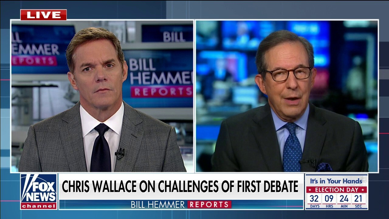 Chris Wallace: Trump 'bears primary responsibility' for debate chaos