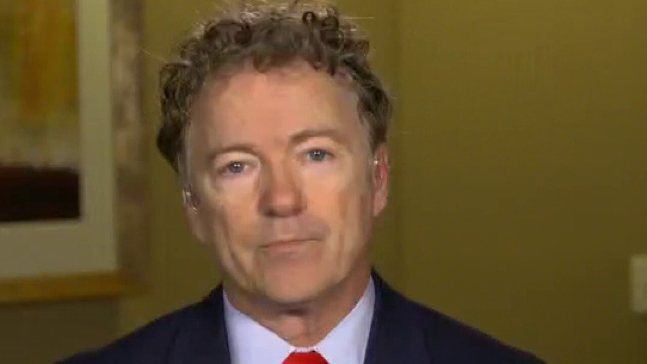Sen. Rand Paul, R-Ky., warns that increasing the capital gains tax will lead to a 'significant market reaction.'