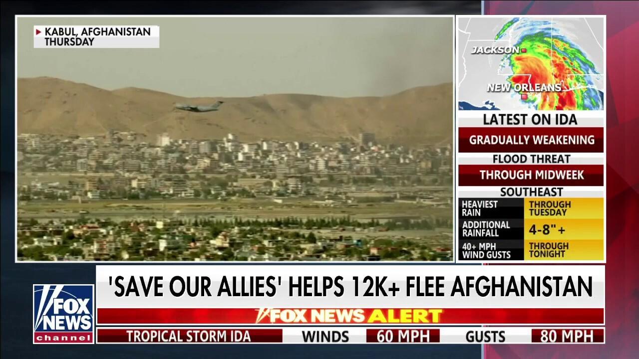 Former special forces sniper leads effort to help 12,000 people flee Afghanistan