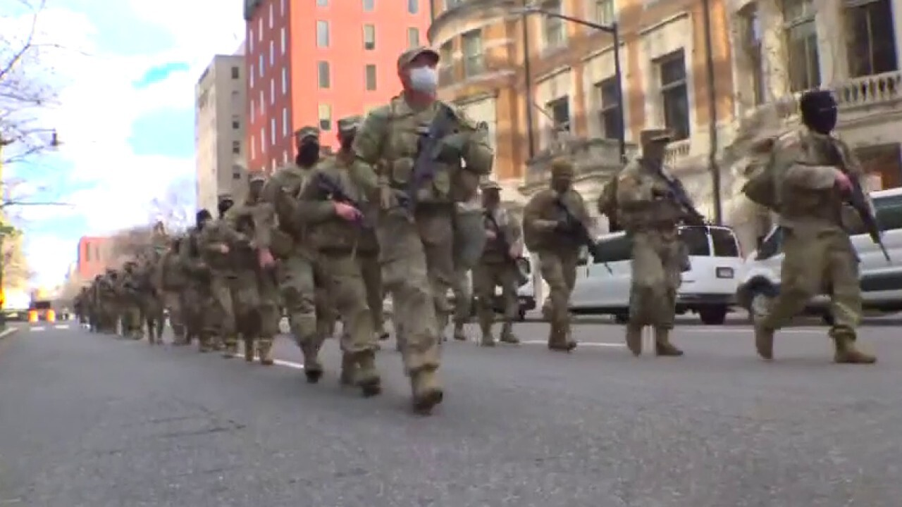 Democrats using military occupation of DC as political weapon