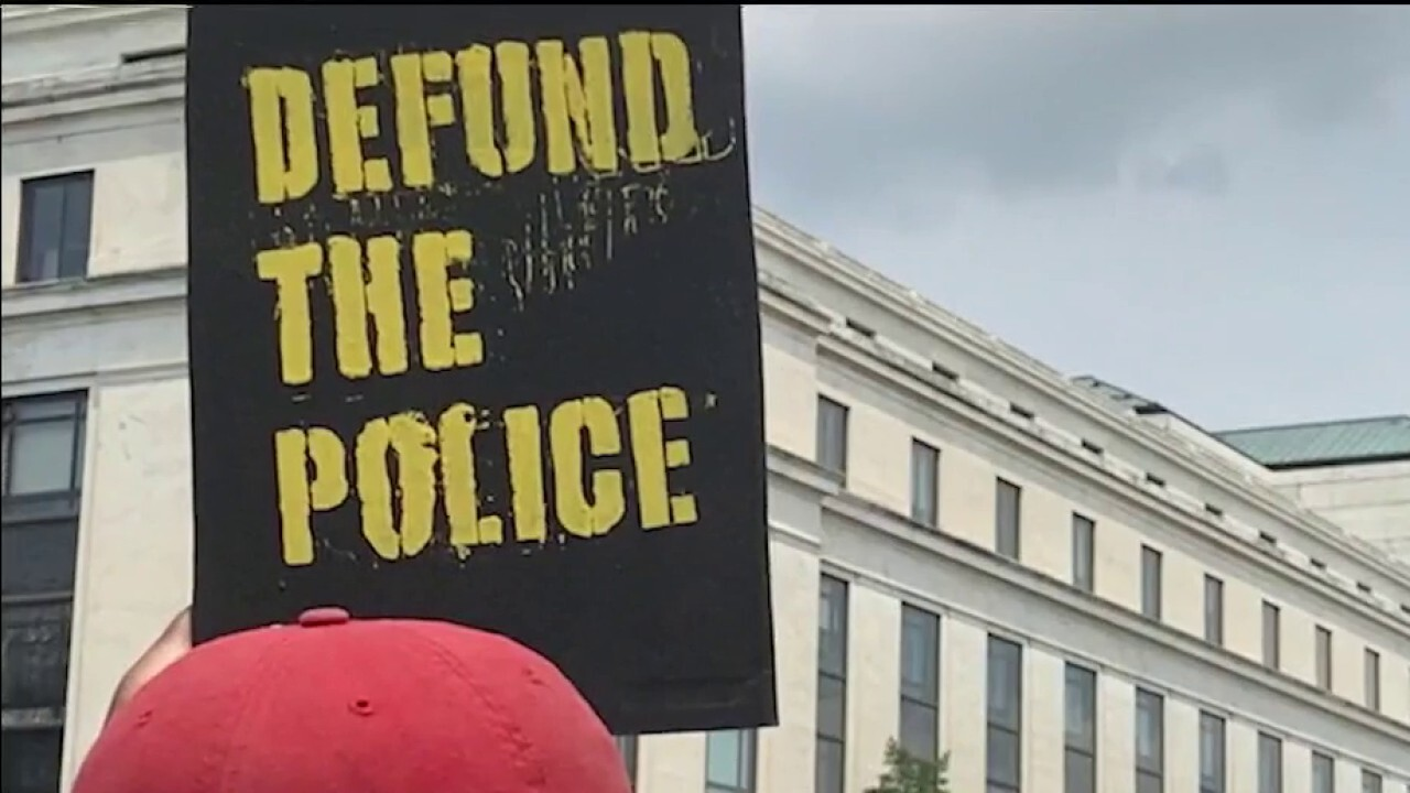 Democrats grapple with 'reform' vs. 'defund' the police messaging