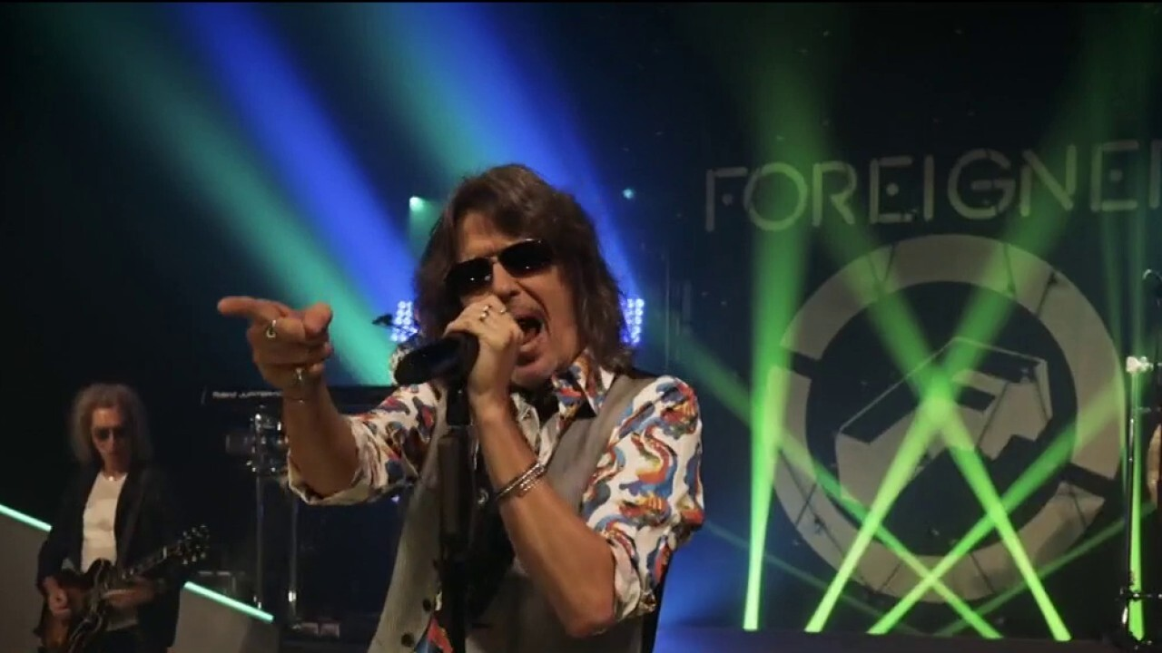 Foreigner performs their greatest hits on 'Fox & Friends'
