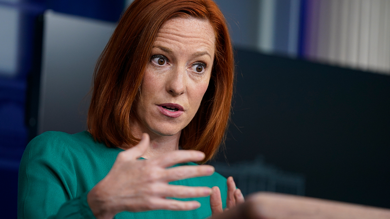 Psaki asked if Biden aware of 'his own role' in 'systemic racism'
