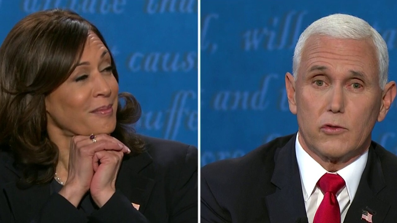 Pence confronts Harris, asks her if Dems will pack Supreme Court