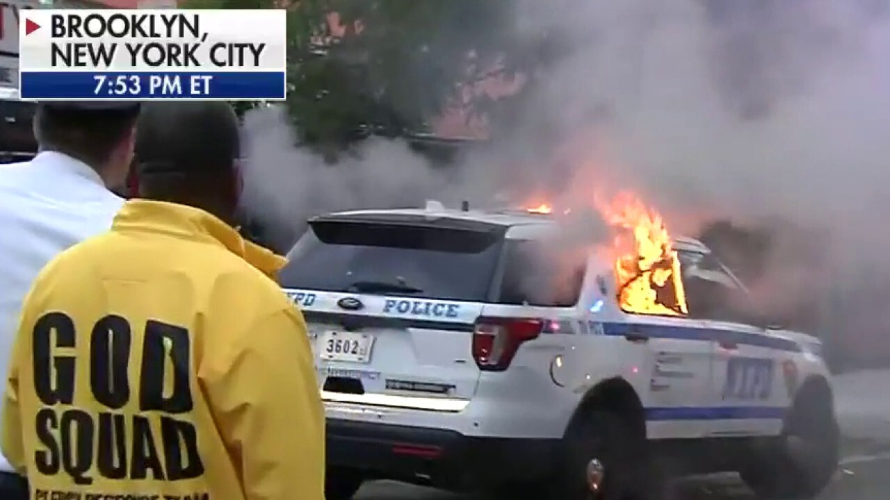 Brooklyn protests turn violent