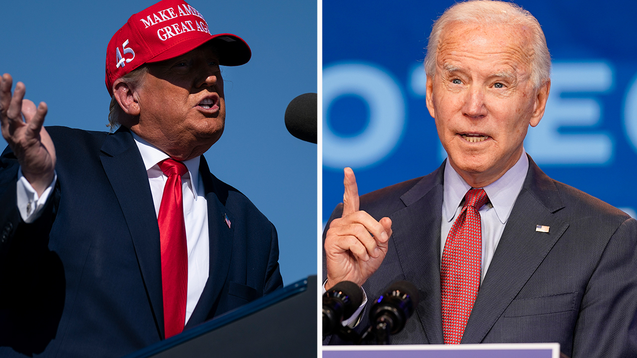 Trump, Biden campaign in Florida as election may come down to the Sunshine State