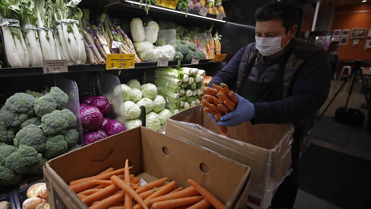 Coronavirus pandemic and grocery shopping: No need to wipe down food packaging, FDA says