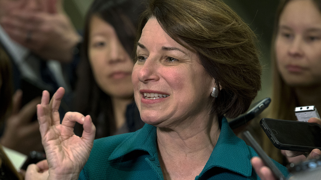 Westlake Legal Group image Klobuchar vows to take campaign to New Hampshire: 'We are strong' fox-news/us/us-regions/midwest/iowa fox-news/politics/2020-presidential-election fox-news/person/amy-klobuchar fox news fnc/politics fnc Brooke Singman article 4f348d27-31cb-5fdd-be7d-1a0d6c528fd5