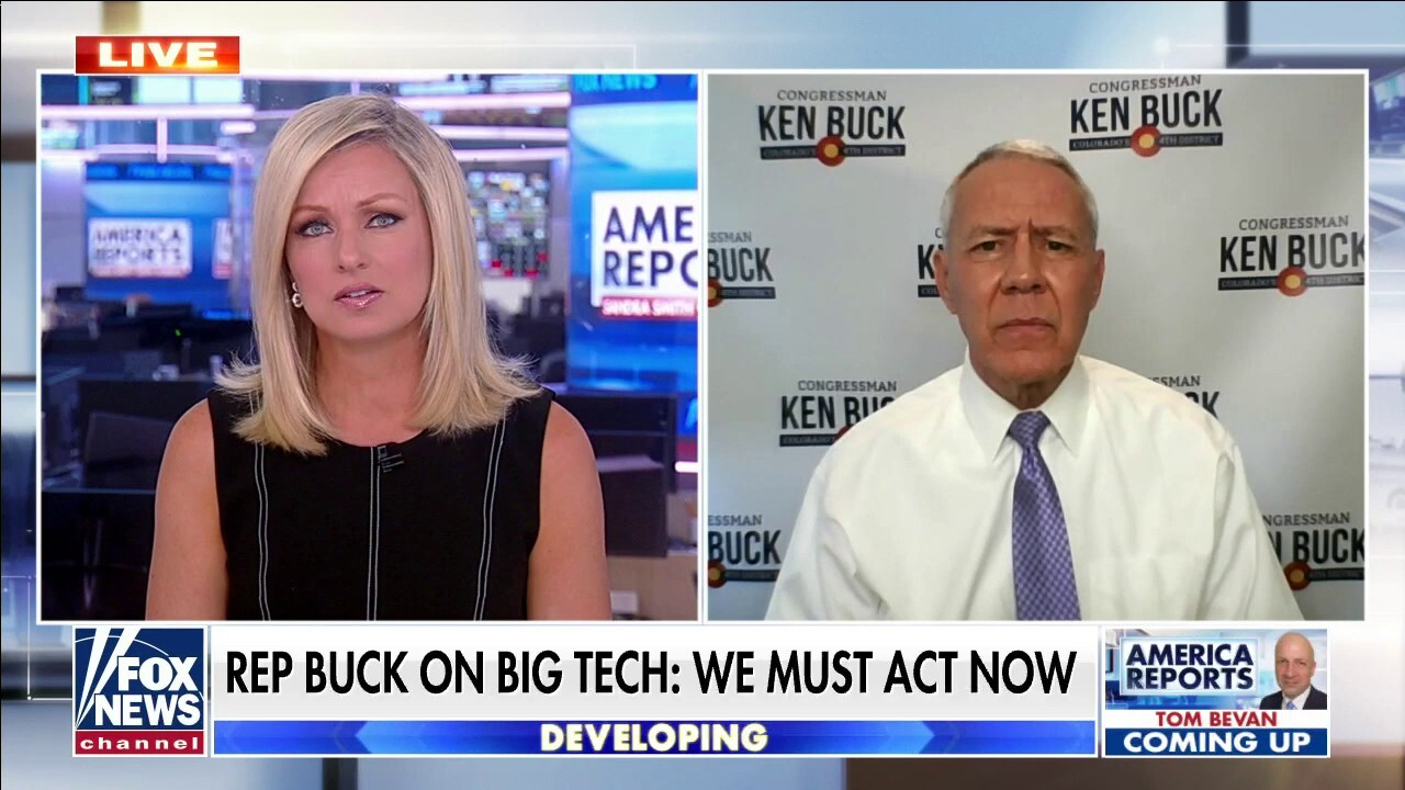 Rep. Buck urges GOP to back Big Tech antitrust bills, warns monopolies will continue to grow