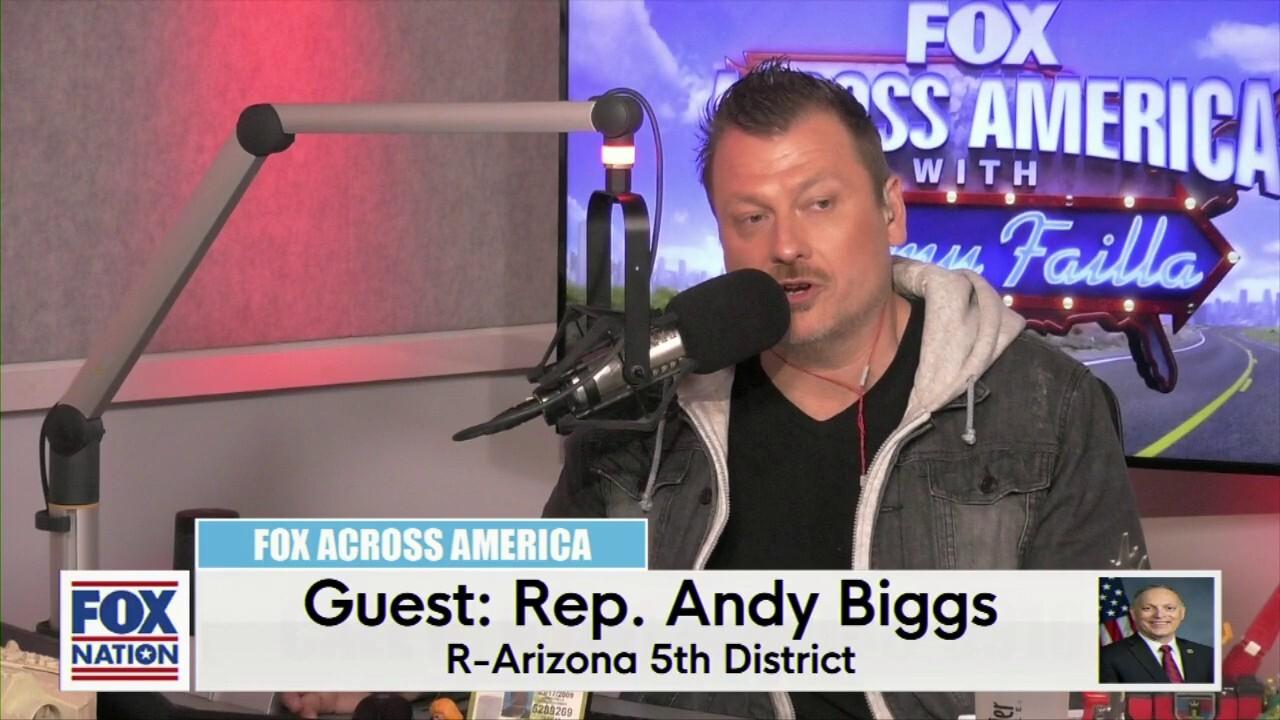Jimmy Failla and Rep. Andy Biggs (R-AZ)