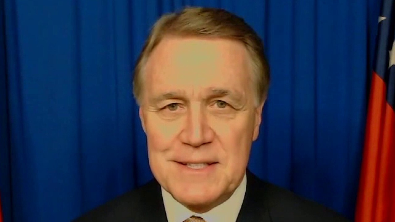 Sen. Perdue on Big Tech executives donating big money to Ossoff ahead of Georgia Senate runoff election