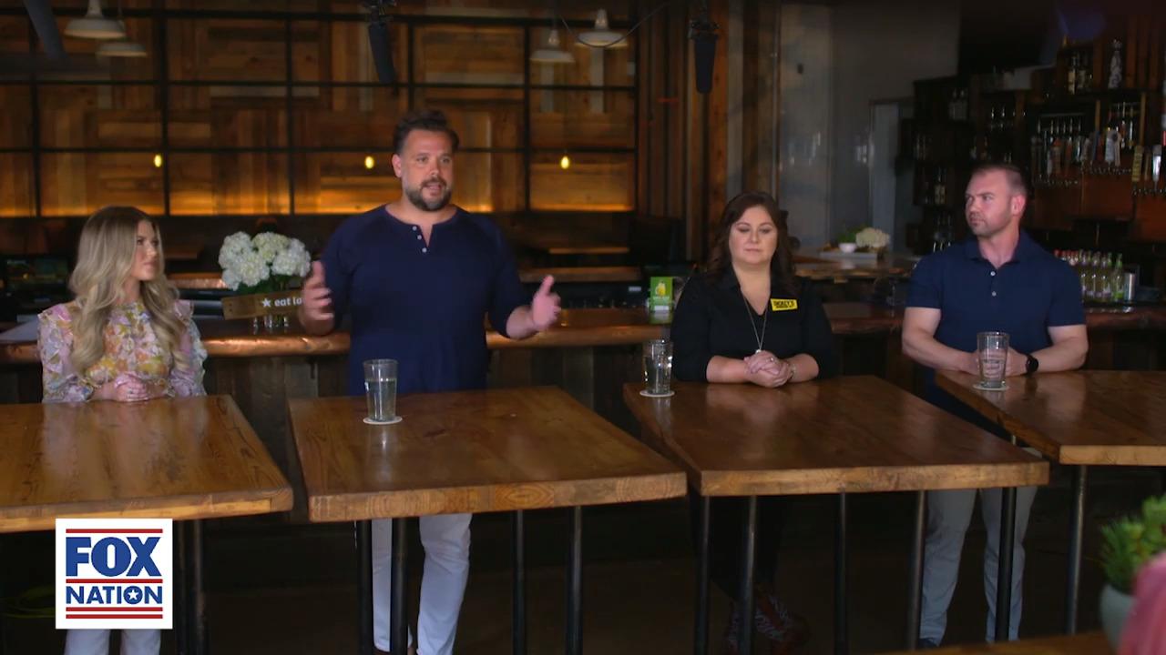 Restaurant owner tells Tomi Lahren he got media backlash after legally reopening