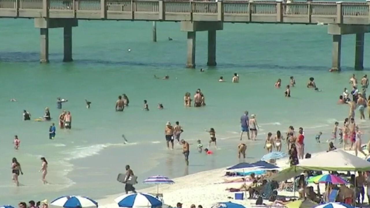 Florida shuts down some beaches to crack down on spring break partying amid coronavirus