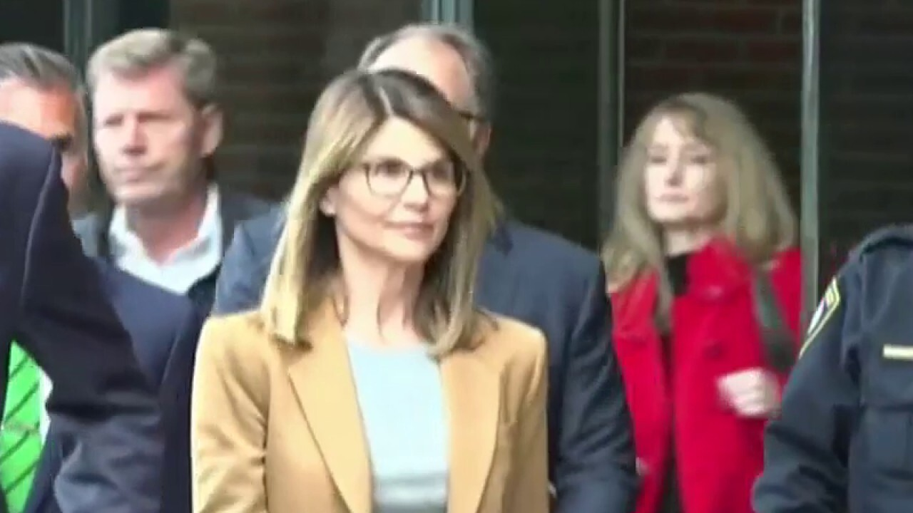 Actress Lori Loughlin and her designer husband Mossimo Giannulli will both serve prison time after paying to get their daughters into USC; Molly Line has an update.