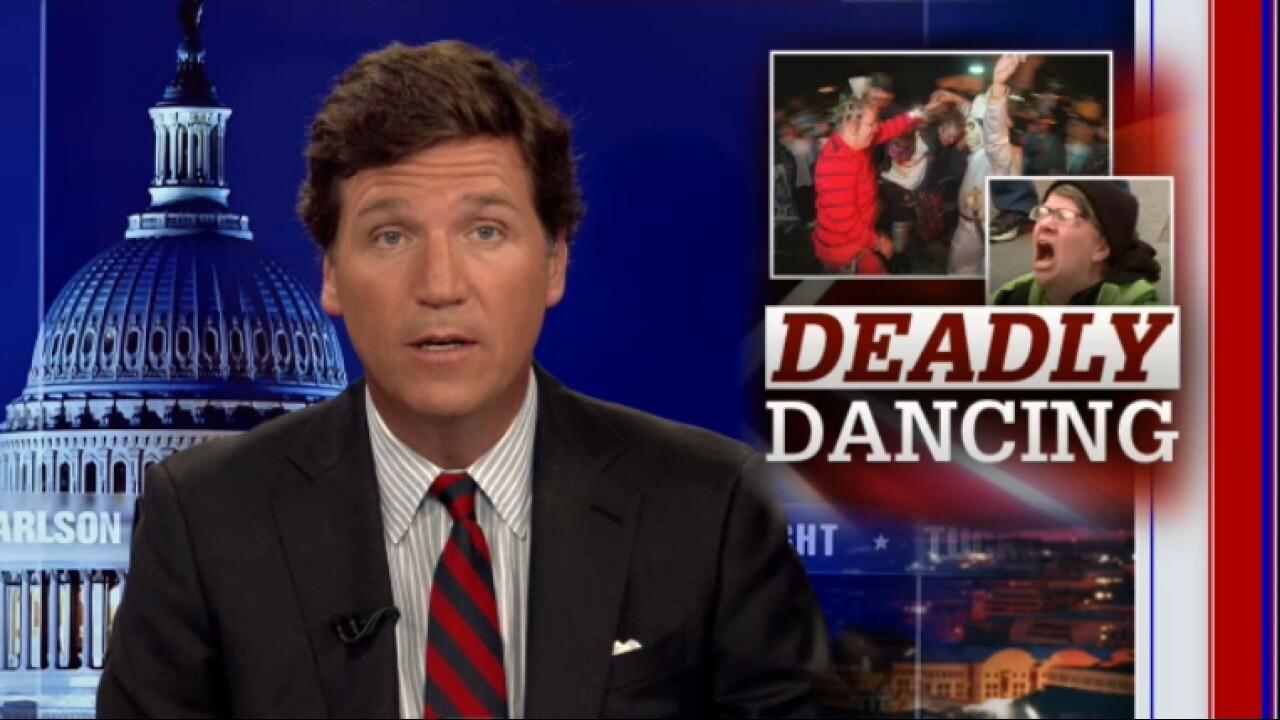 Tucker slams DC mandate banning dancing at weddings