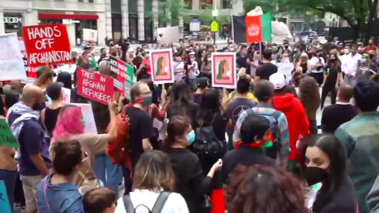 Demonstrations held to bring attention to humanitarian crisis in Afghanistan