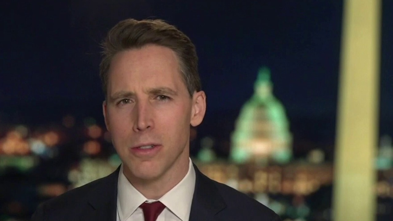 Sen. Josh Hawley speaks out after announcing plan to object to electors