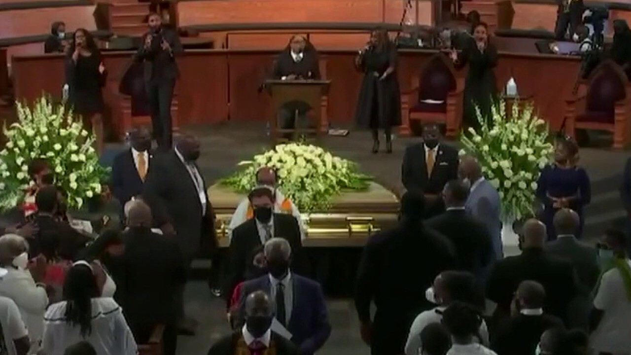 Funeral for Rayshard Brooks ends in emotional finale