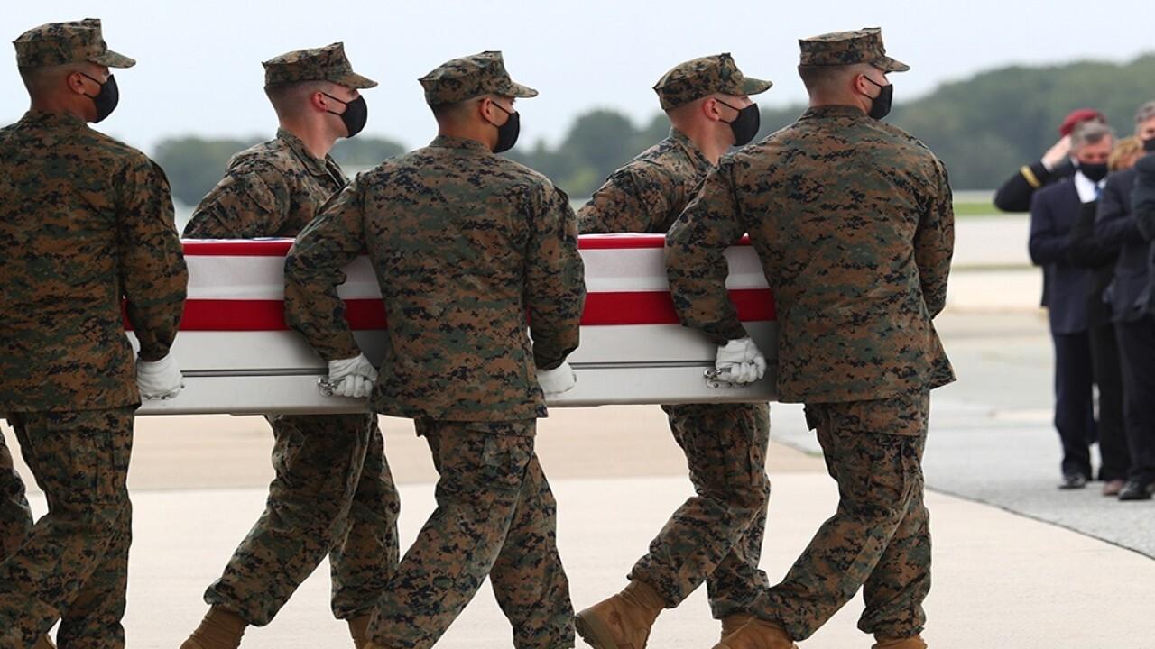 Widow of last soldier to die mourns husband