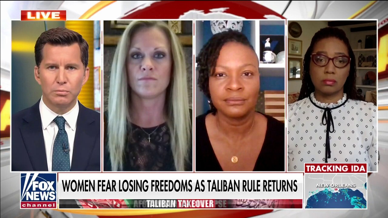 Female veteran panel on Taliban takeover: 'It's the complete erasure of women'