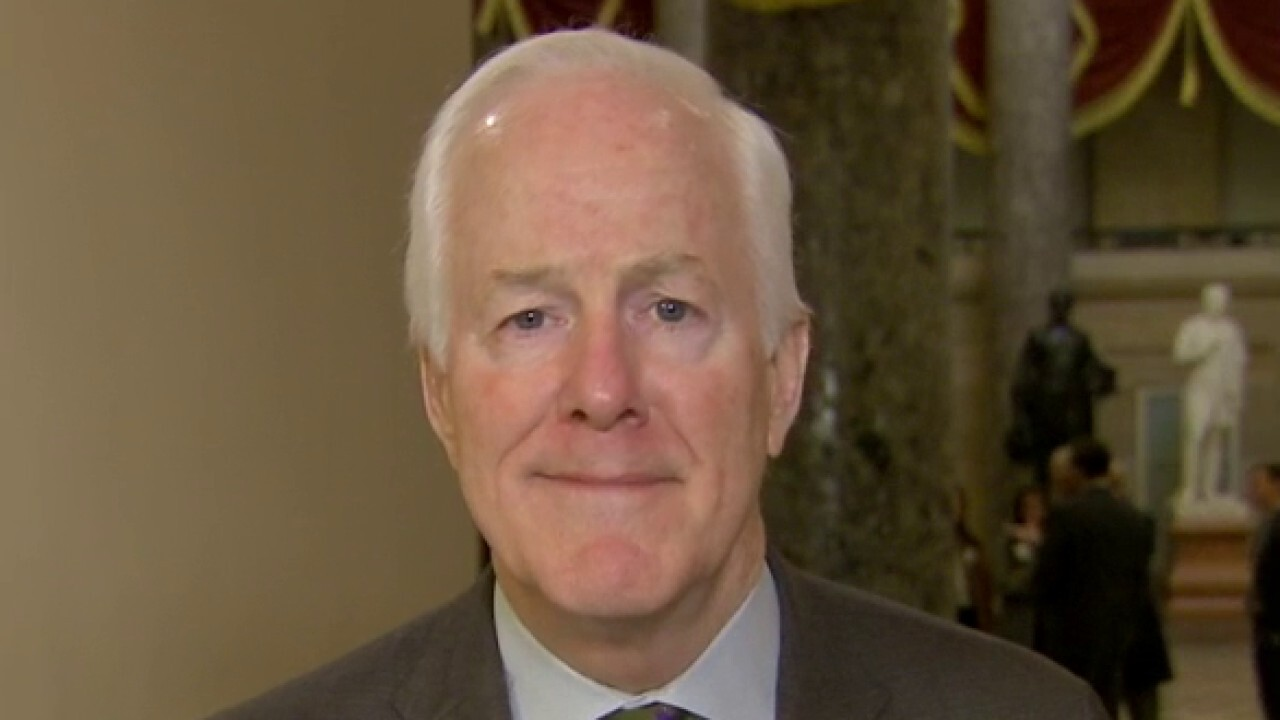Sen. John Cornyn respects Mitt Romney's right to cast his impeachment vote the way he sees fit