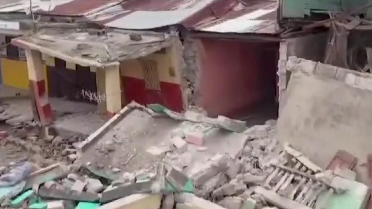 Earthquake in Haiti creates massive destruction, leaves many dead