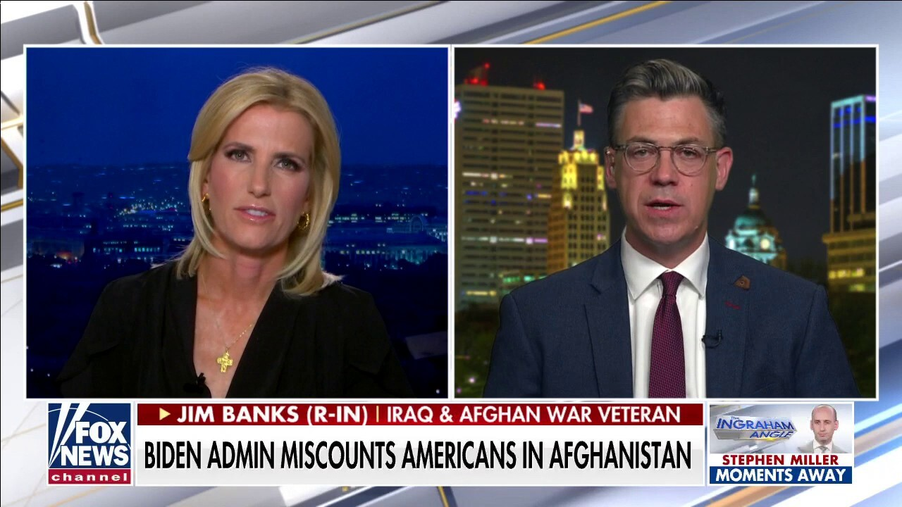 Rep. Jim Banks: It's humiliating to watch the Taliban own our embassy