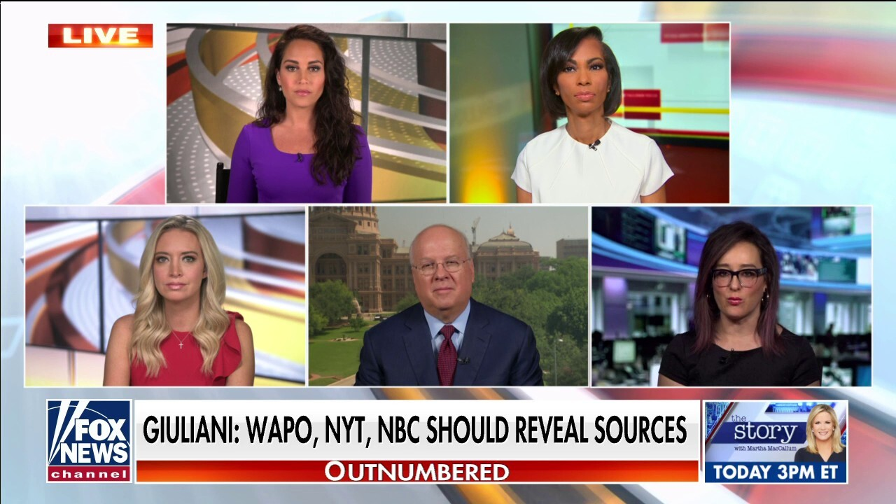 'Outnumbered' reacts to retracted WaPo, NYT, NBC stories on Giuliani