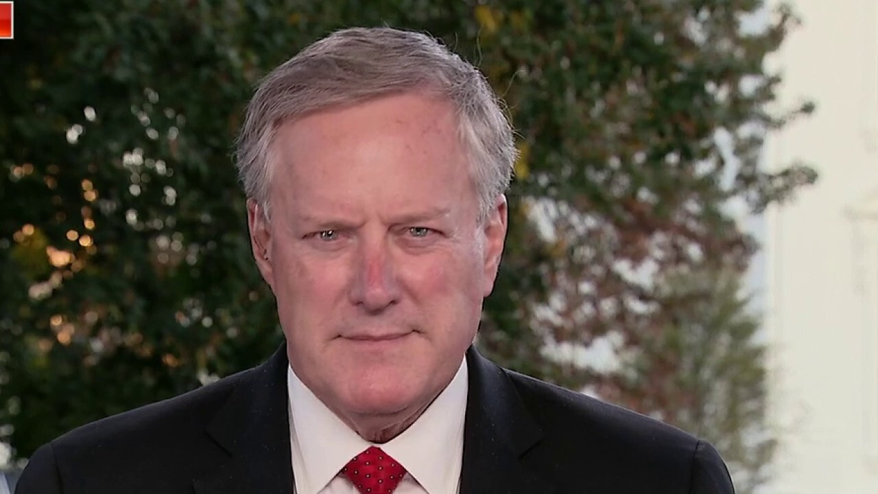 Meadows blames Pelosi for stalled coronavirus stimulus negotiations