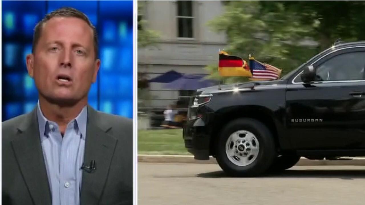 Ric Grenell sounds off on Biden-Merkel meeting