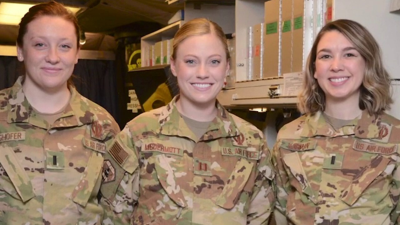 Air Force marks International Women's Day with all-female alert
