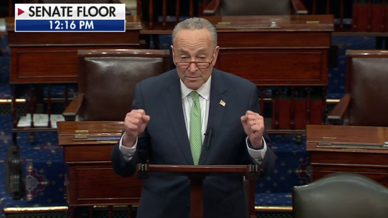 Chuck Schumer defends COVID-19 bill delay: We need protection for workers, oversight